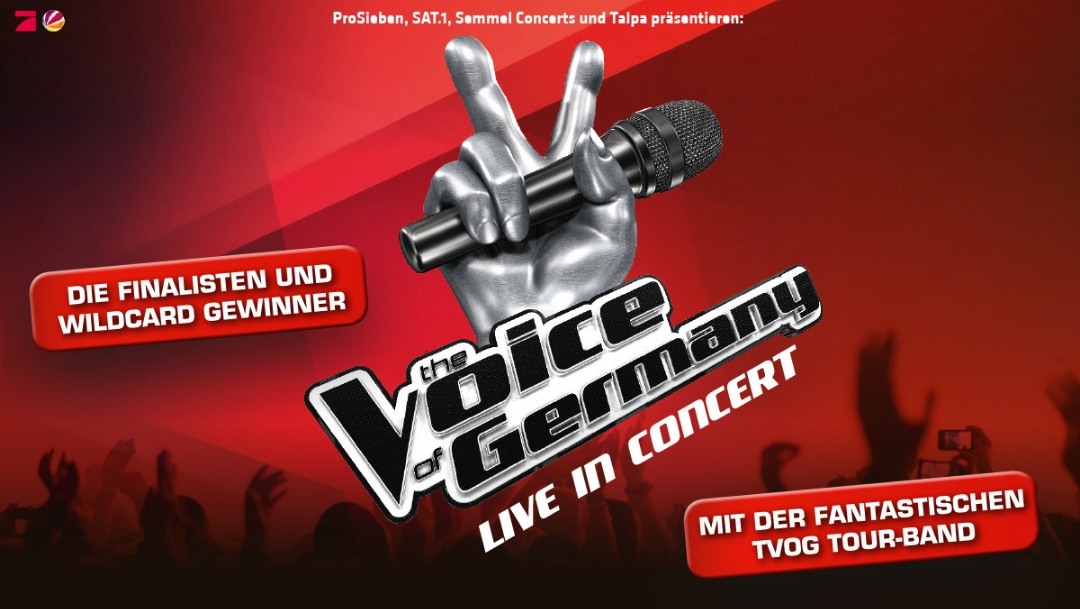 The Voice of Germany – Rabattierte Tickets im Centro