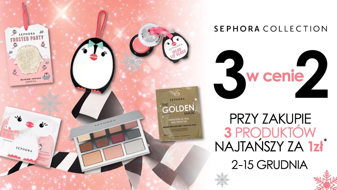 3 w cenie 2 Sephora Collection