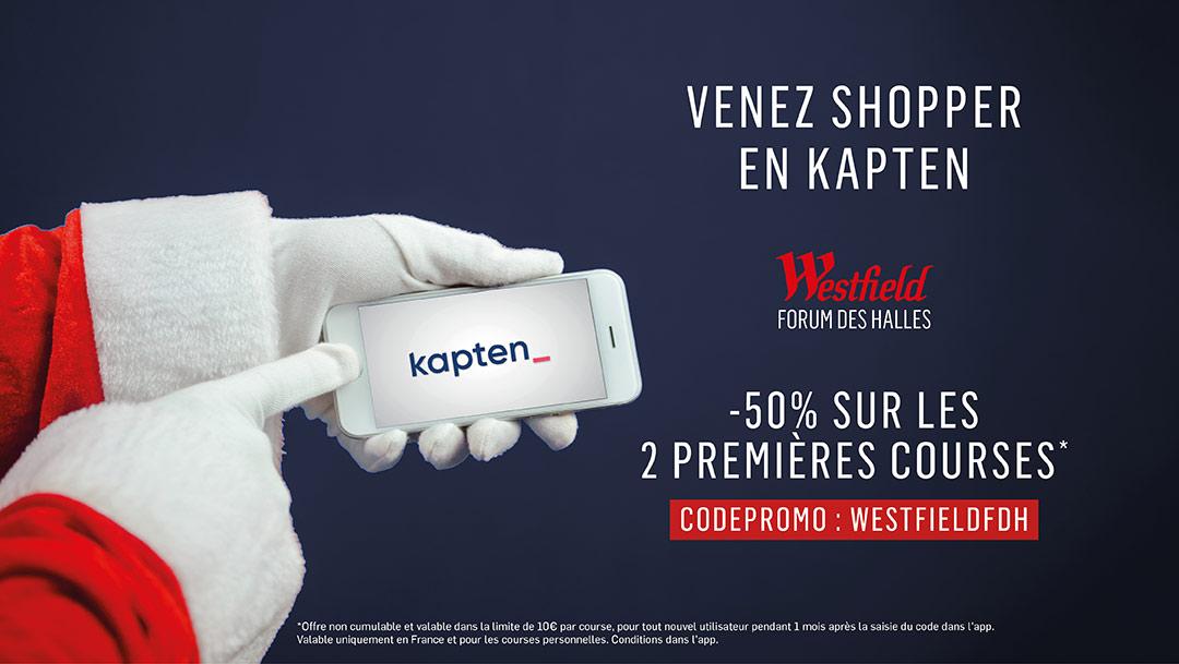 2 x 50% avec Kapten !