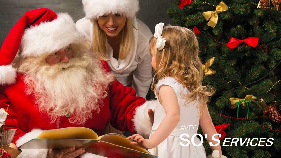 Rencontre avec le Père Noël