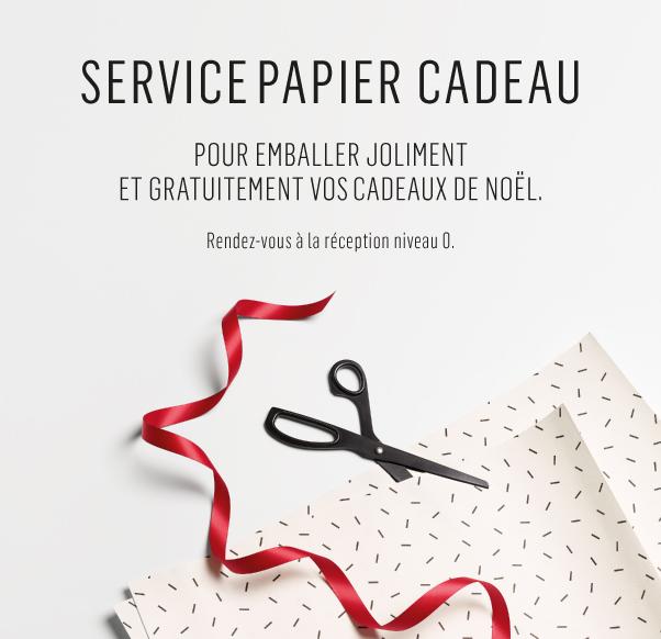 Service papier cadeau