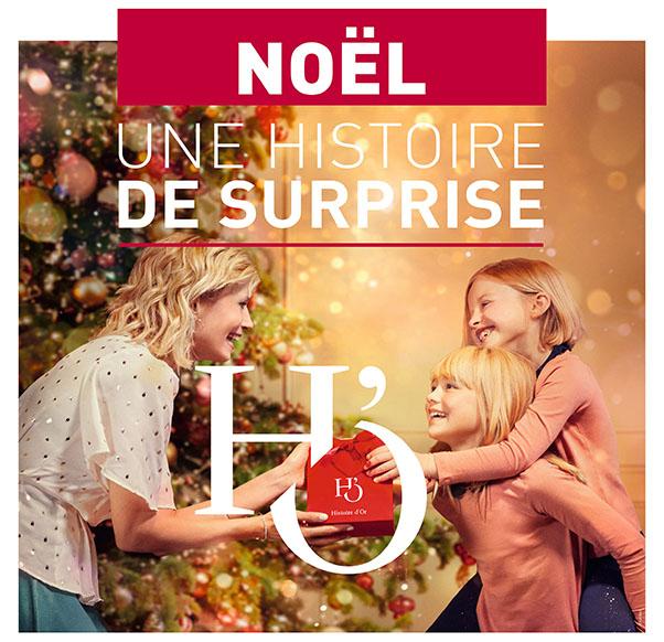 Histoire d'Or fête Noël