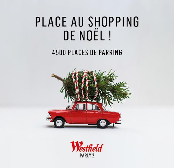 PLACE AU SHOPPING DE NOEL