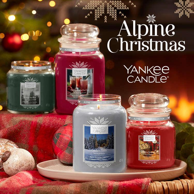 Vánoční novinky Yankee Candle v prodeji již od 1.10.2019