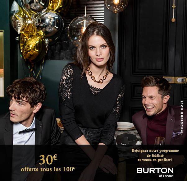 Le Noël  de Burton of London