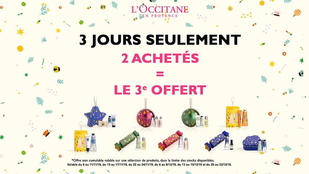 Offre Week-ends x L'Occitane
