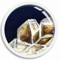 A morphing image thumb of FUN•tastic Ocean's gems, Goldie Citrine Diamond, illustrated by We~Ivy aka Shillmynara