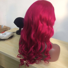 Pinky Full Lace 140%25 Density wig