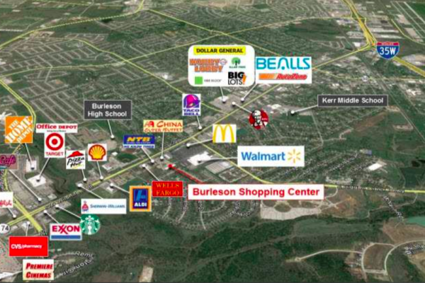 Property Image - Burleson Retail Center