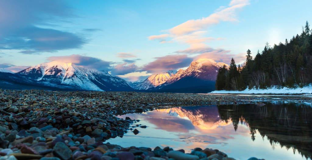 top national parks to hammock - glacier