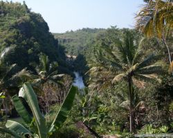 Водопады Sri Getug и деревенская Ява