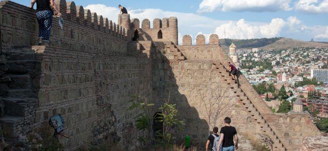 Нарикала - крепость в Тбилиси