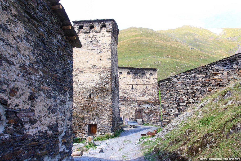 Сванские башни в Ушгули