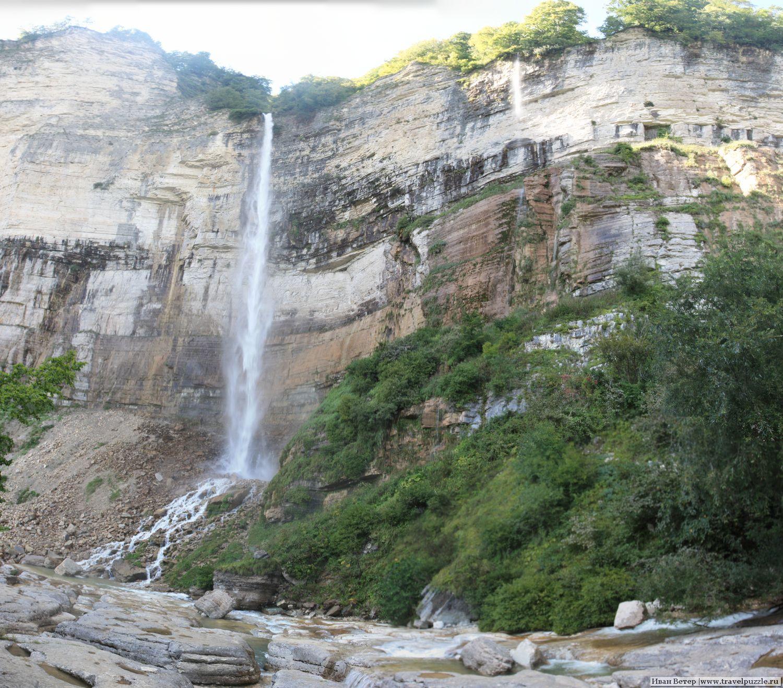 Панорама водопада Кинчха