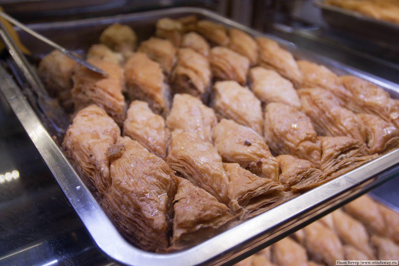 Восточные сладости в Батуми