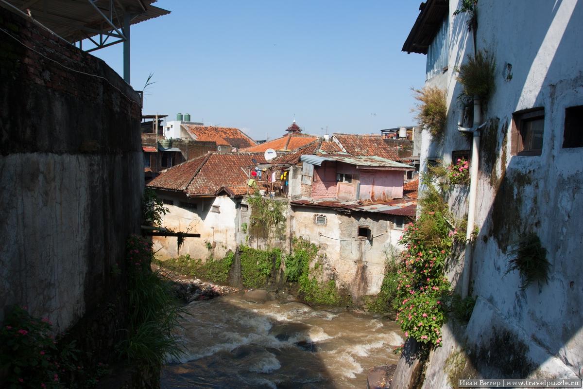 Бедные кварталы Бандунга