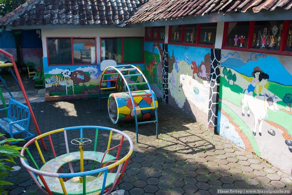 Индонезийский детский сад удивительно похож на российский.