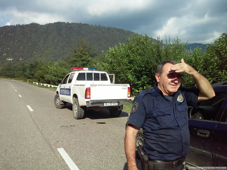 Полицеский автостоп