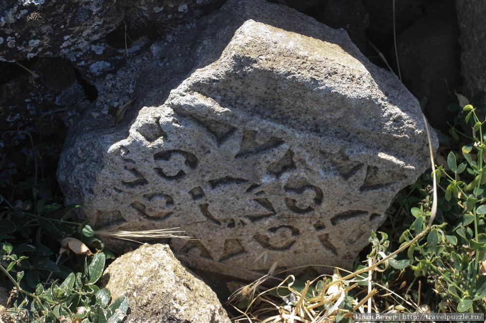 Древние узоры на камнях