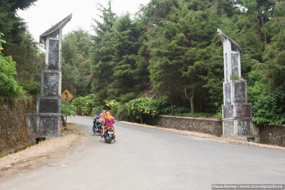 Ворота на плато Диенг