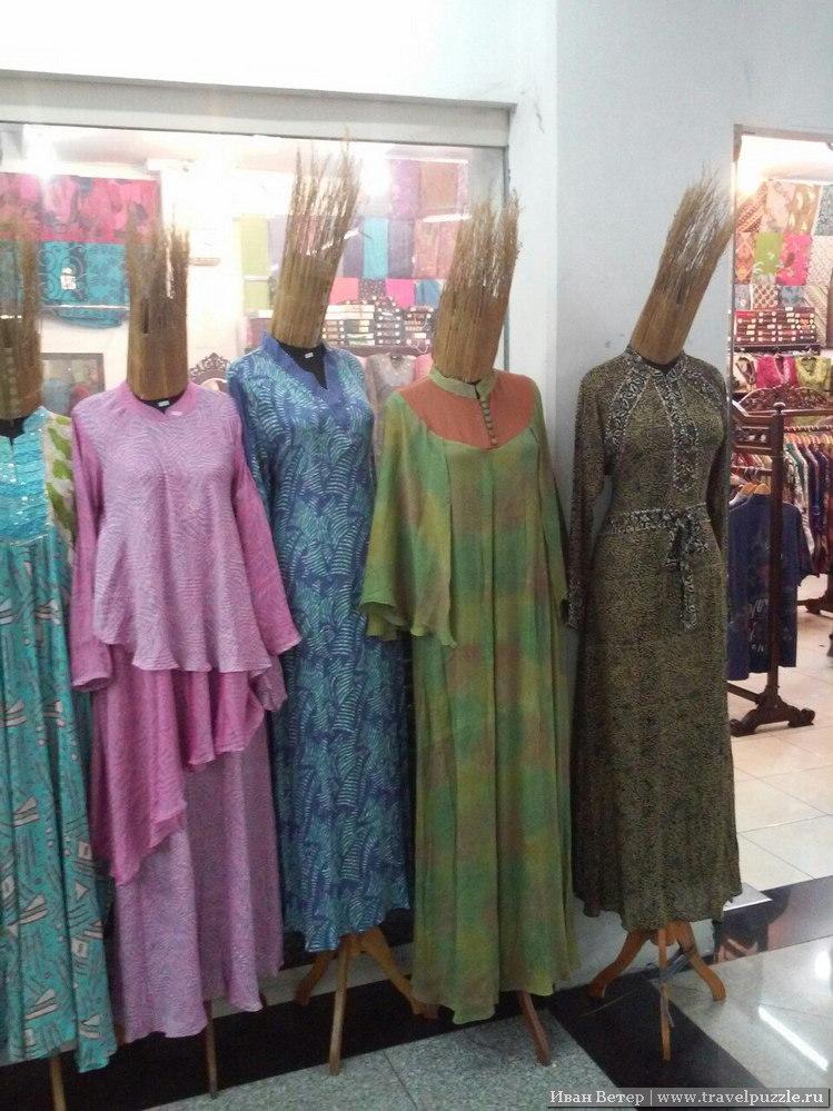 Батик в Индонезии