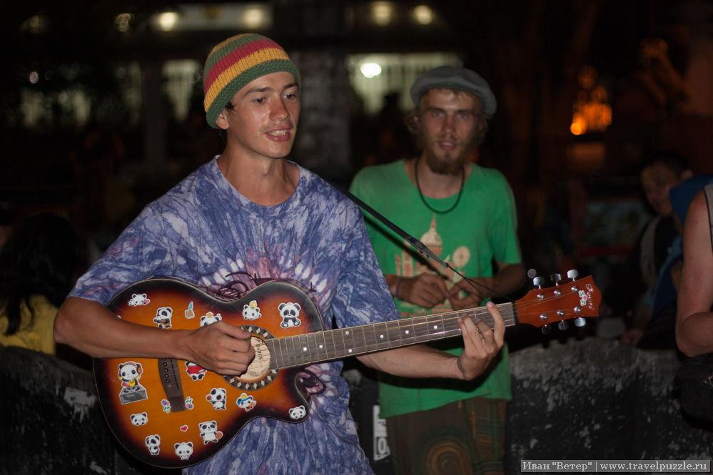русские музыканты в Индонезии