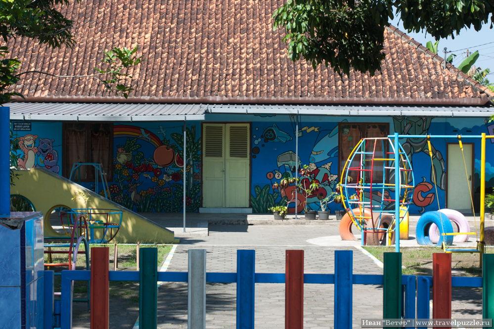 Детский сад совершено как в России