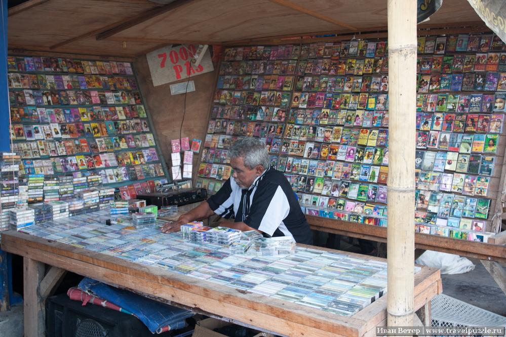 Аудиокассеты на рынке