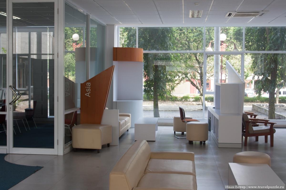 Библиотека университета Джокьякарты