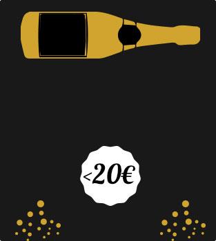 Champagne à moins de 20€