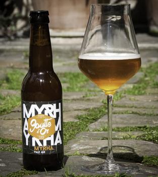 Myrah bière goutte d'or