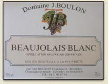 DOMAINE J. BOULON BLANC 2015
