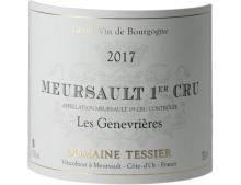 MEURSAULT 1ER CRU GENEVRIÈRES BLANC 2017 - DOMAINE TESSIER