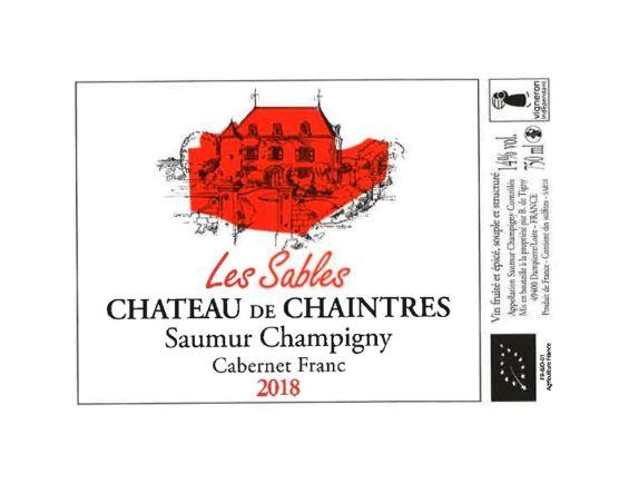 CHÂTEAU DE CHAINTRES LES SABLES SAUMUR-CHAMPIGNY ROUGE 2018