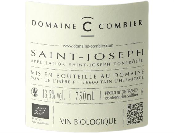 DOMAINE COMBIER SAINT-JOSEPH ROUGE 2018