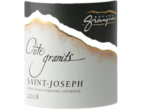 DOMAINE ROLAND GRANGIER COTE GRANITS SAINT-JOSEPH ROUGE 2018