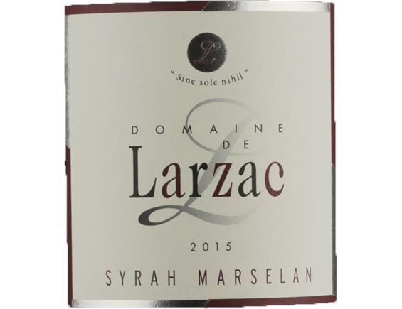 PAYS D'OC SYRAH MARSELAN ROUGE 2015 - DOMAINE DE LARZAC