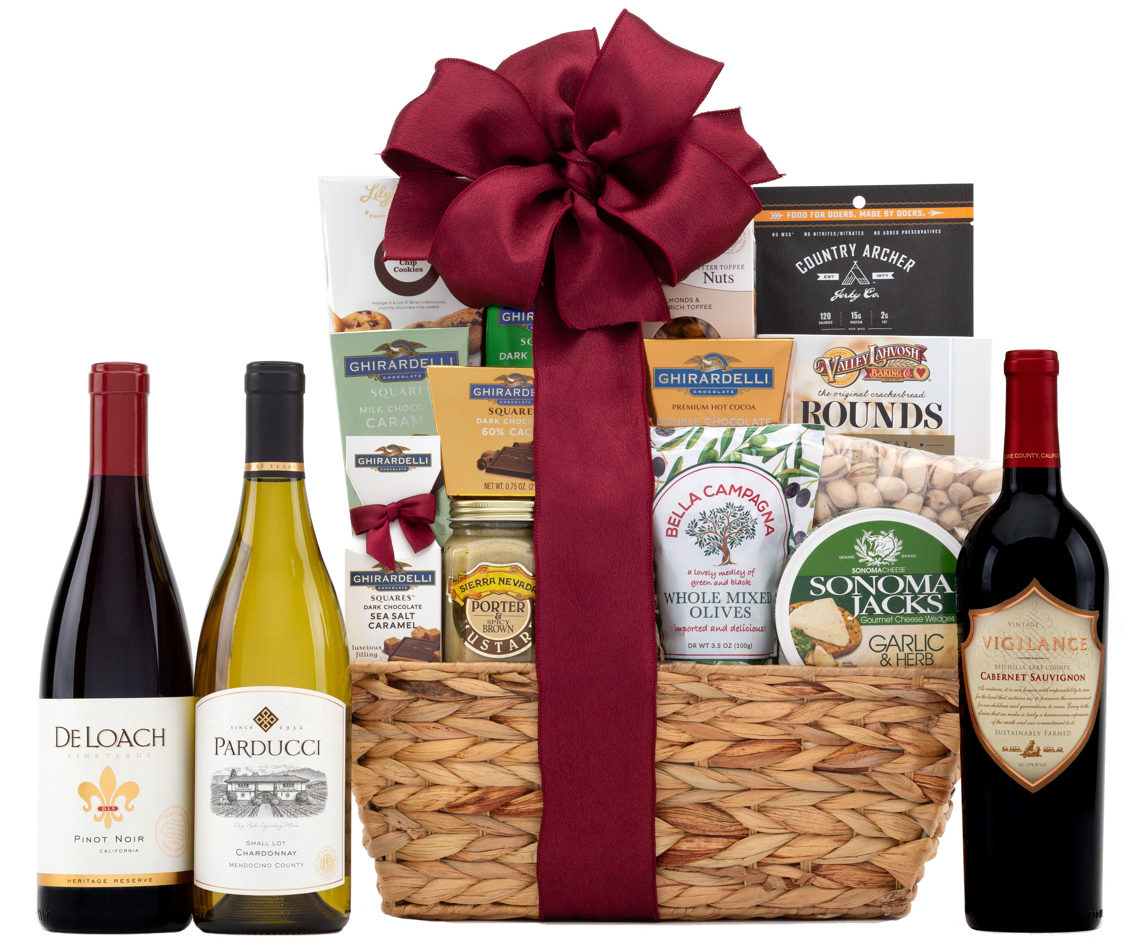 California Wine Tour Gift Basket | Wine.com