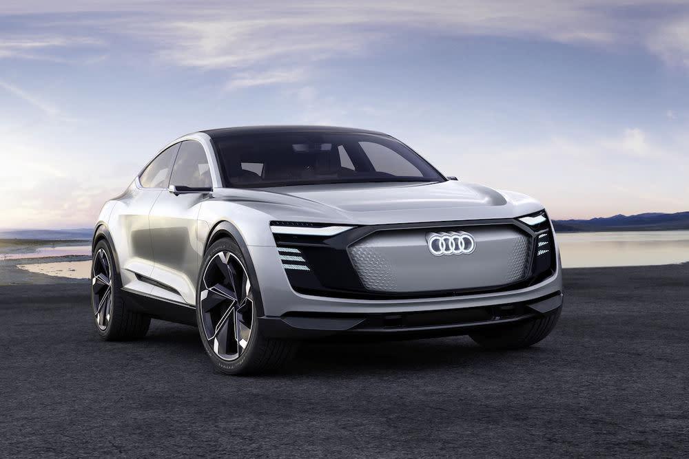 Audi e-tron GT: Audi will in rund vier Jahren einen neuen Elektro-Sportwagen vorstellen, der technisch auf dem Porsche Mission E basiert.