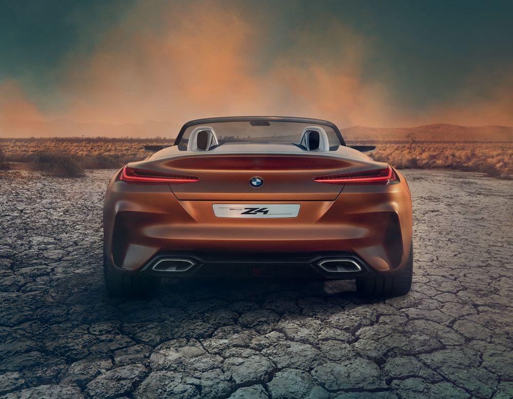 """Für das Concept hat man sich für einen mattes Orange entschieden, ein Frozen """"Energetic Orange"""", wie es bei BMW heißt."""