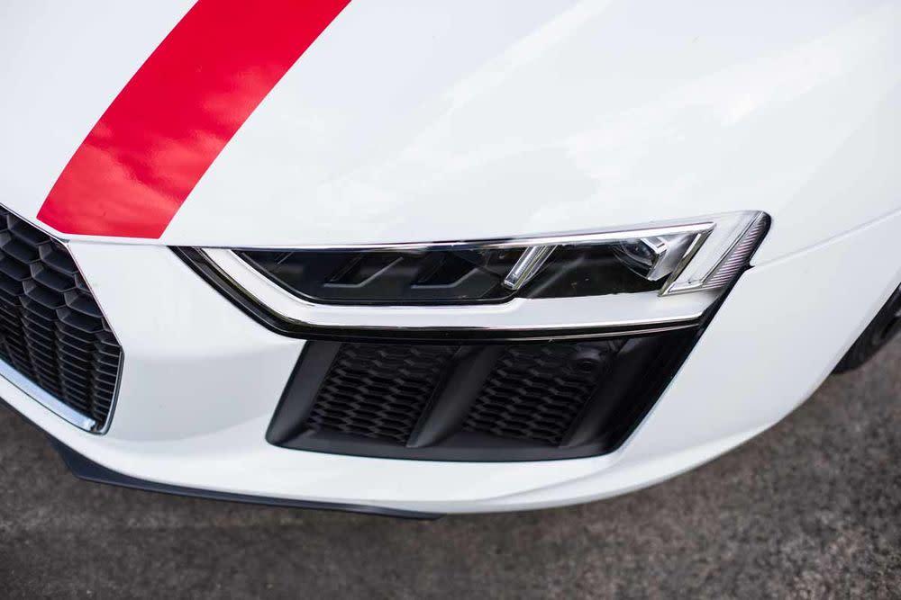 Audi R8 Coupé V10 RWS, Front