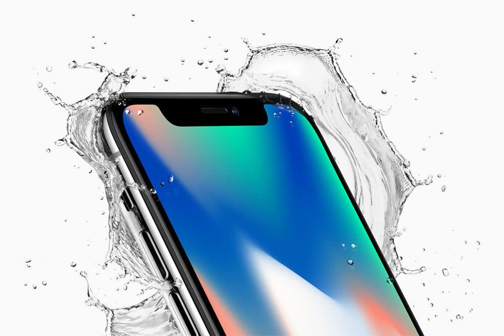 Die Farben des neuen iPhone X: Space Grau und Silber. Verfügbar ist das Flaggschiff ab dem 3. November, Vorbestellungen sind ab dem 27. Oktober möglich.