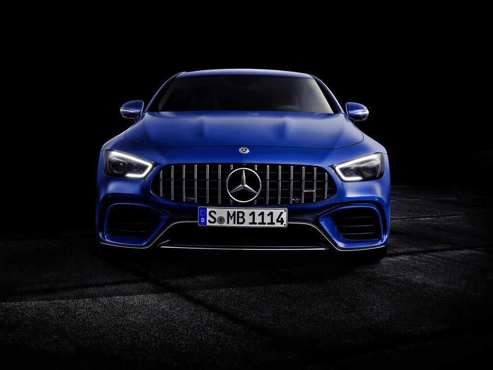 Der neue Mercedes-AMG GT 63 S: Frontansicht