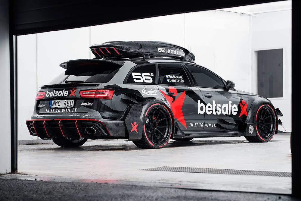 Klar, es geht um das Gumball 3000! Welchen Platz auch immer Olsson belegt, von seinem Audi RS6 werden wir hören.