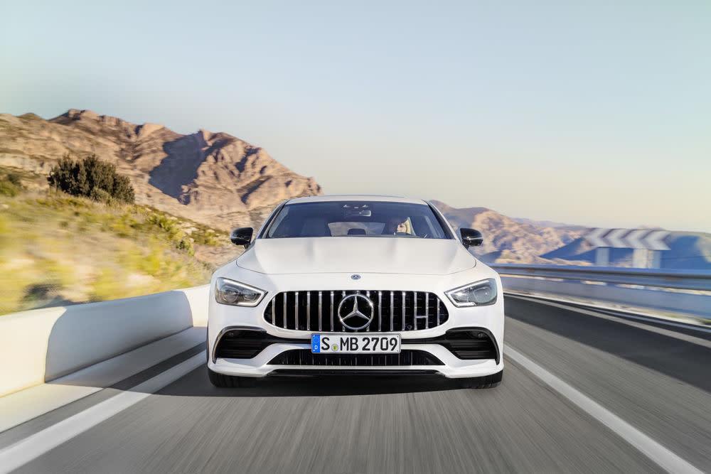 Der neue Mercedes-AMG GT 53: Front