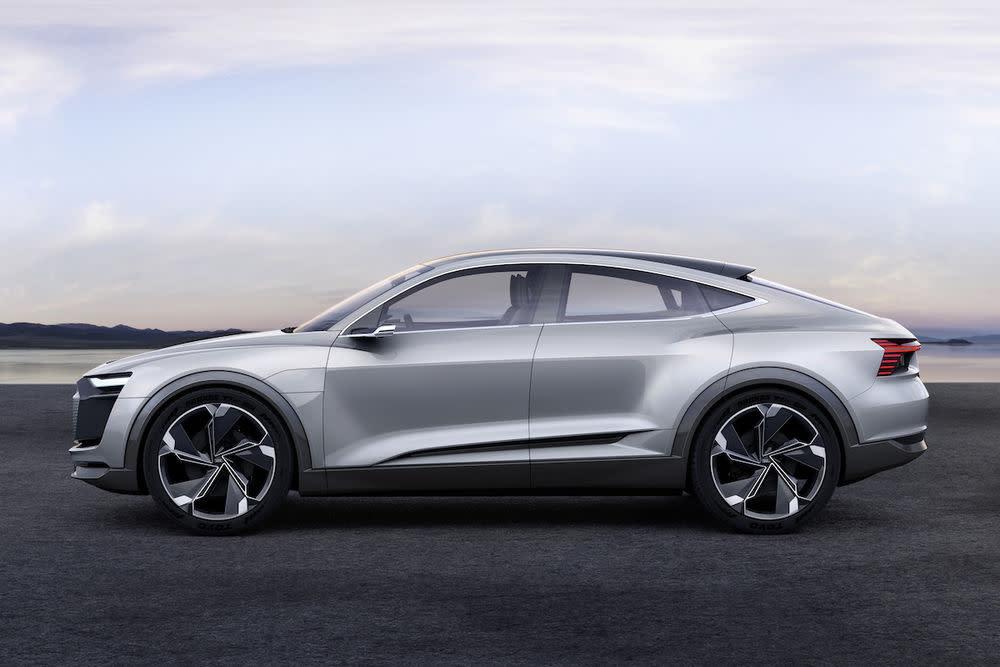"""Konkret bezeichnete Mertens das Fahrzeug als """"einen angedachten – nennen wir ihn mal – e-tron GT""""."""