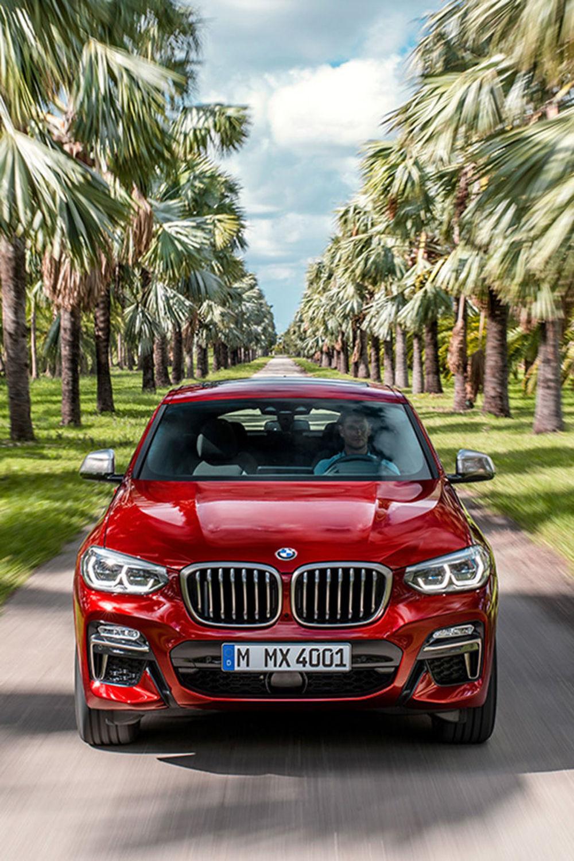 Frontalansicht: Das BMW X4 SUV-Coupé