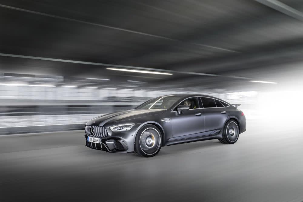 Wie zum Markstart üblich, setzt Mercedes mit der AMG GT 63 S Edition 1 auf eine Sonderausgabe seiner Neuerscheinung.