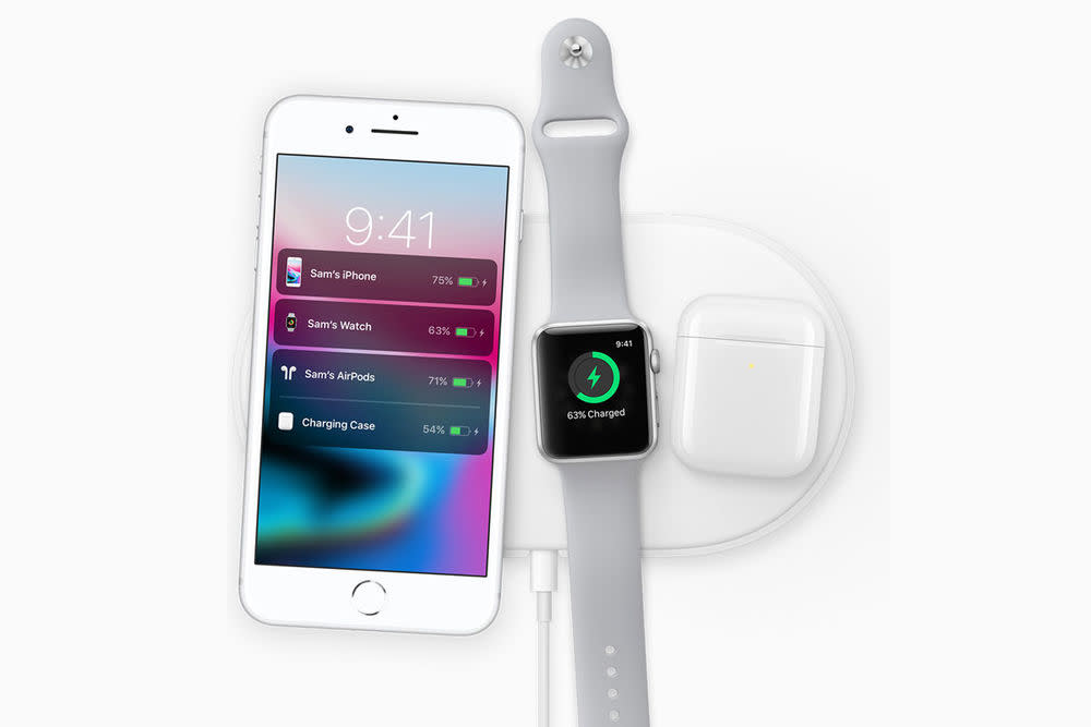 Wireless Charging funktioniert auch mit den neuen Modellen iPhone 8 und 8 Plus.
