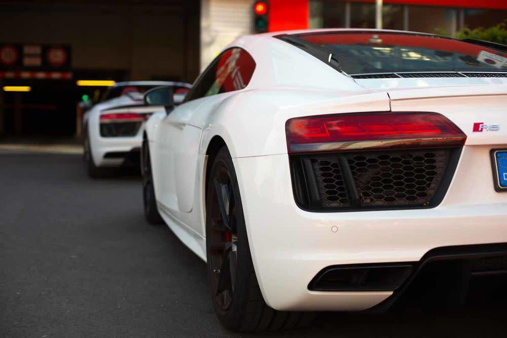 Audi R8 Coupé V10 RWS, Rückleuchte